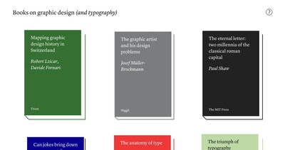 Books on graphic design Thumbnail Preview