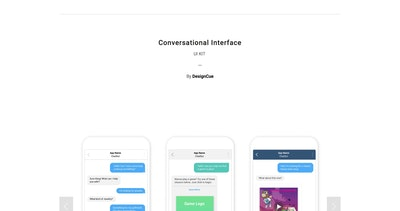 Conversational Interface Thumbnail Preview