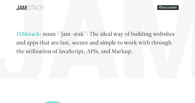 JAMstack Thumbnail Preview