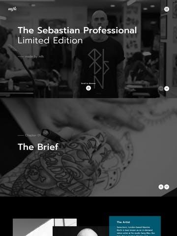 Sebastian Professional Limited Edition Thumbnail Preview
