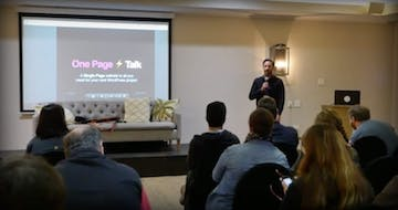 """Why All You Need Is One Page"" WordCamp Talk Video"