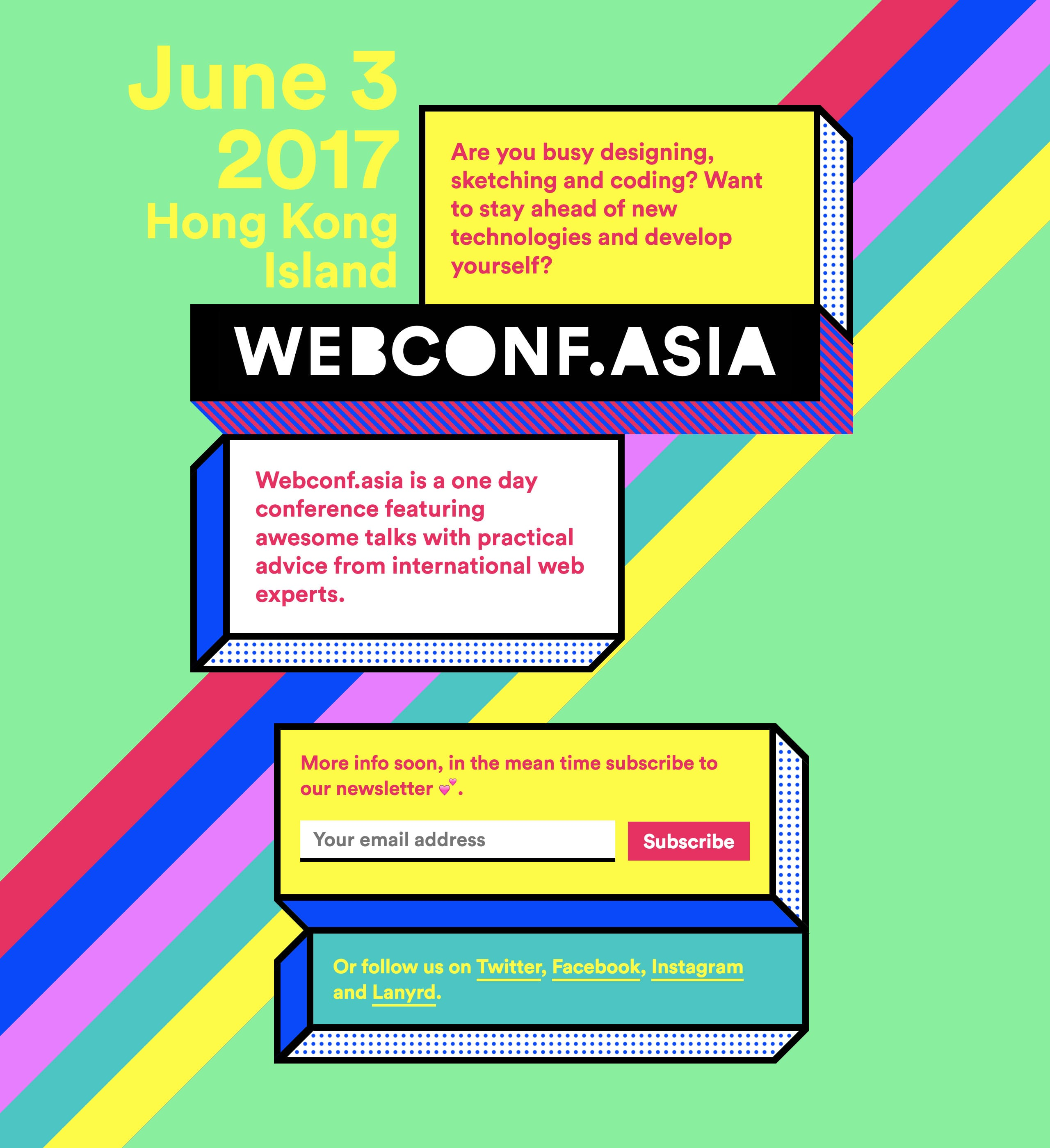 Webconf.asia Website Screenshot