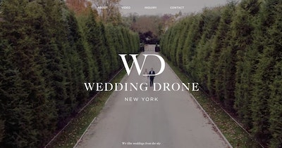 Wedding Drone New York Thumbnail Preview