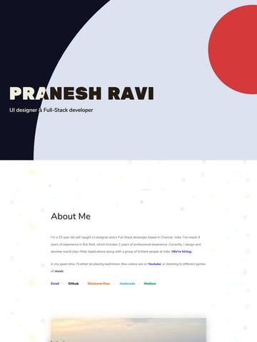 Pranesh Ravi Thumbnail Preview