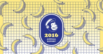 MailChimp 2016 Annual Report Thumbnail Preview