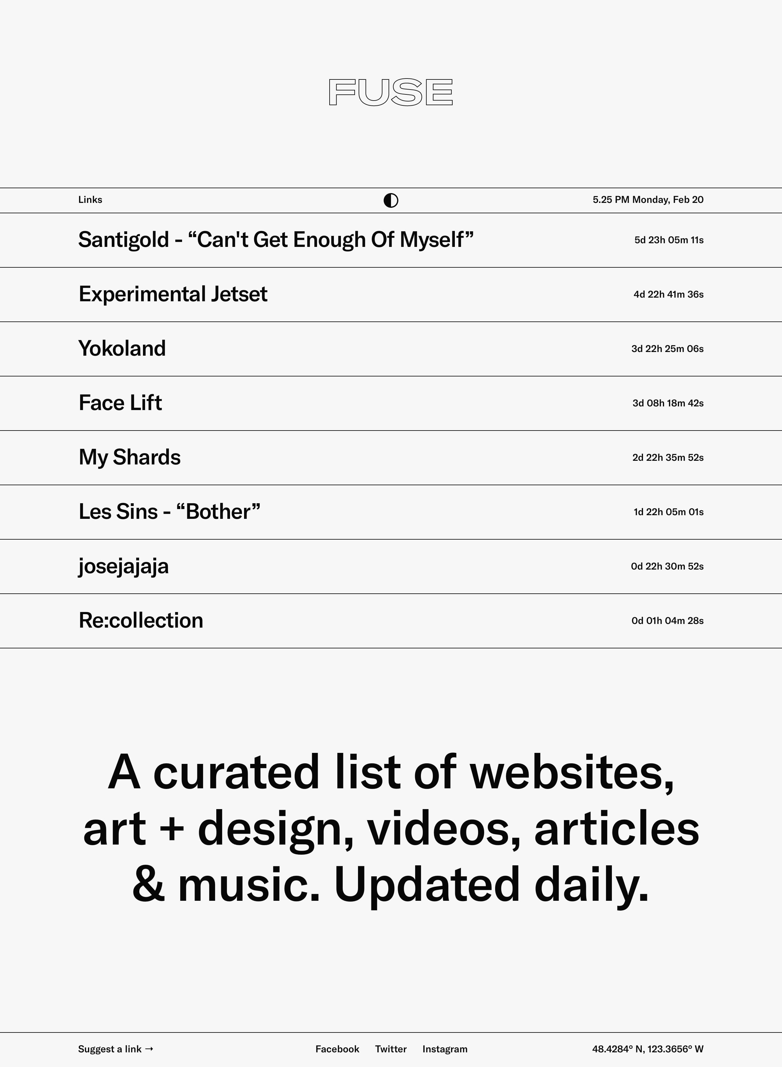 Fuse Website Screenshot
