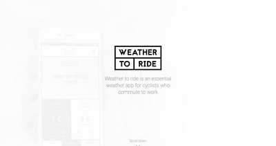 Weather to ride Thumbnail Preview