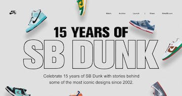 Nike – 15 Years of SB Dunk Thumbnail Preview