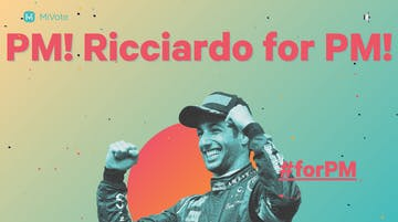 Ricciardo for PM Thumbnail Preview