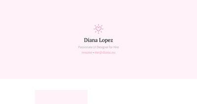 Diana.nu Thumbnail Preview
