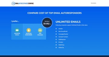Email Autoresponder Compare Thumbnail Preview