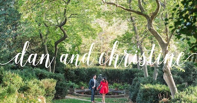 Dan + Christine Wedding Thumbnail Preview