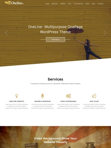 Oneline Lite Thumbnail Preview