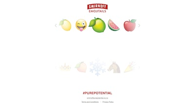 Smirnoff Emojitails Thumbnail Preview
