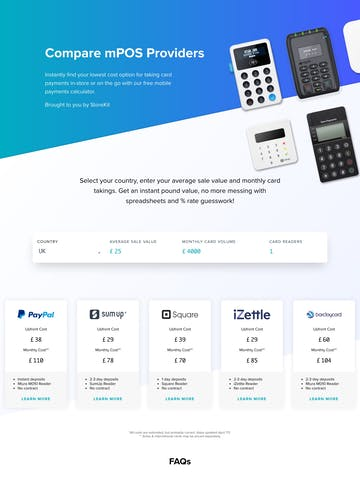 StoreKit mPOS Calculator Thumbnail Preview
