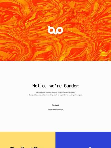 Gander, Inc. Thumbnail Preview