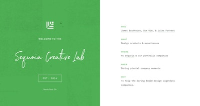 Sequoia Creative Lab Thumbnail Preview