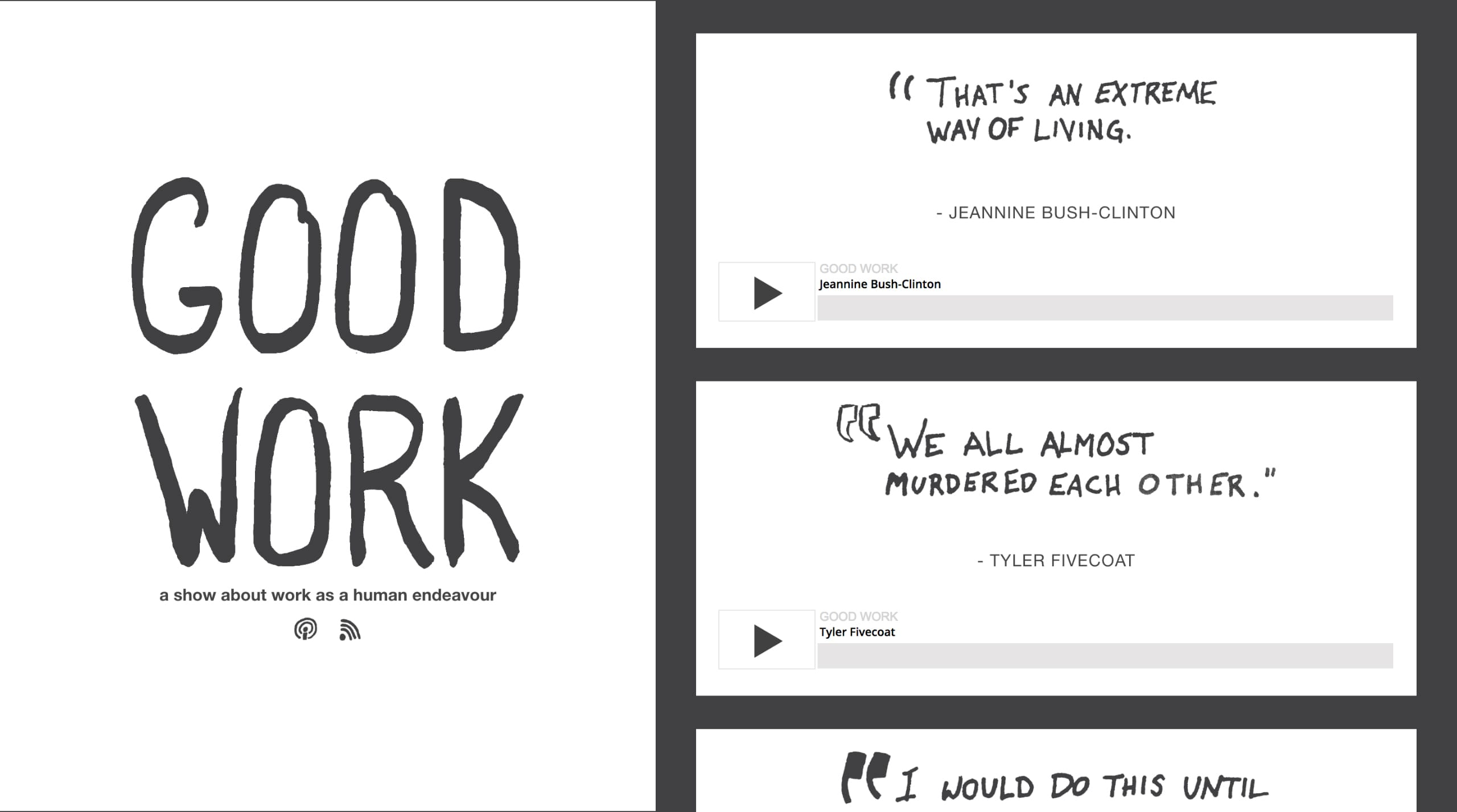 Good Work Website Screenshot