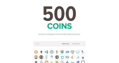 500 Coins Thumbnail Preview