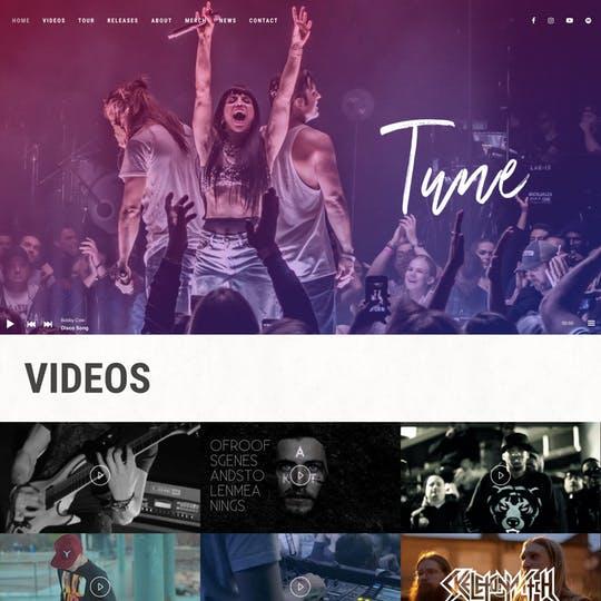 Tune Thumbnail Preview