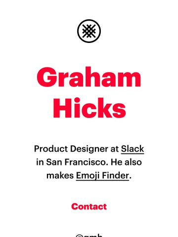 Graham Hicks Thumbnail Preview