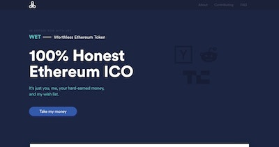 Worthless Ethereum Token Thumbnail Preview
