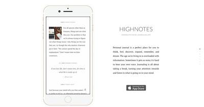 HighNotes Thumbnail Preview