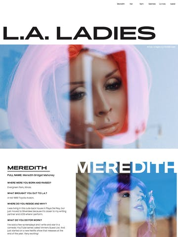 The L.A. Ladies Thumbnail Preview