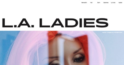The L.A. Ladies Thumbnail Preview