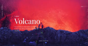 A Digital Volcano Thumbnail Preview
