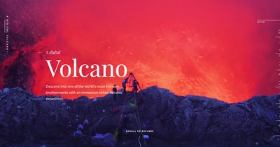 A Digital Volcano Thumbnail Preview