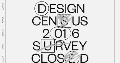 Design Census 2016 Thumbnail Preview