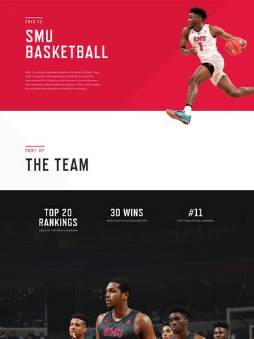 SMU Basketball Thumbnail Preview