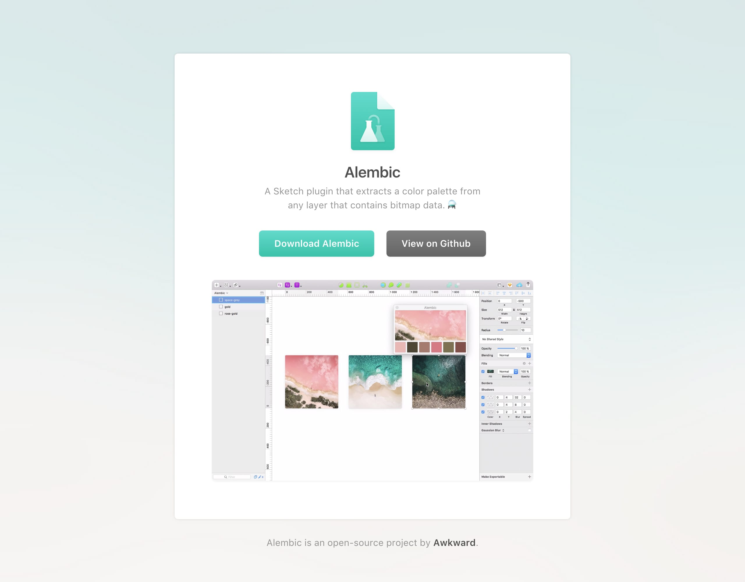 Alembic Website Screenshot