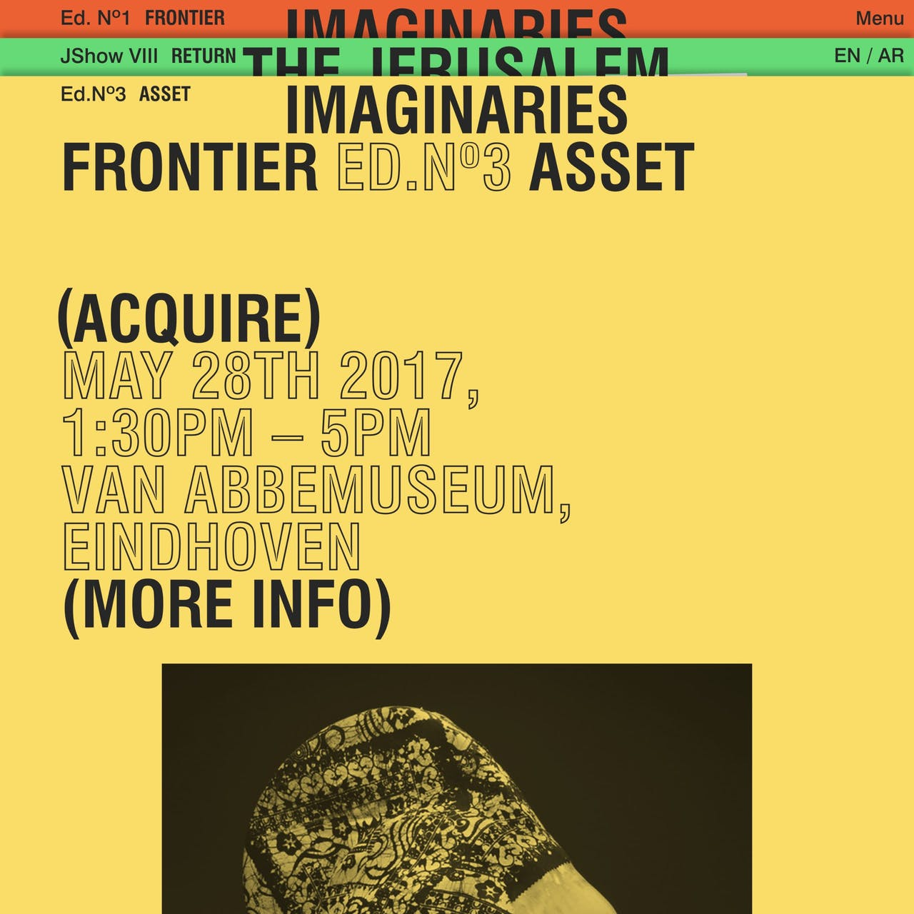 Frontier Imaginaries Website Screenshot