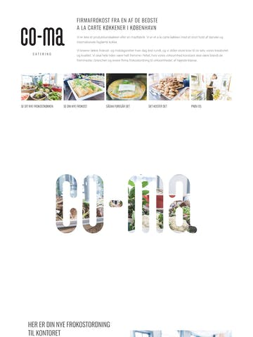 Co-Ma Catering Thumbnail Preview