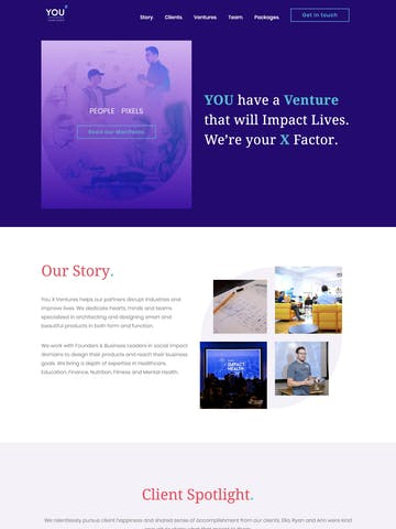 You X Ventures Thumbnail Preview