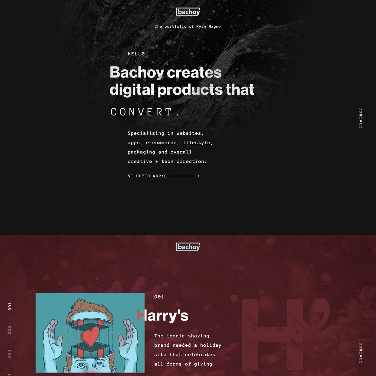 Bachoy Website Screenshot