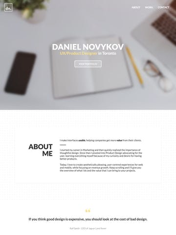 Daniel Novykov Thumbnail Preview