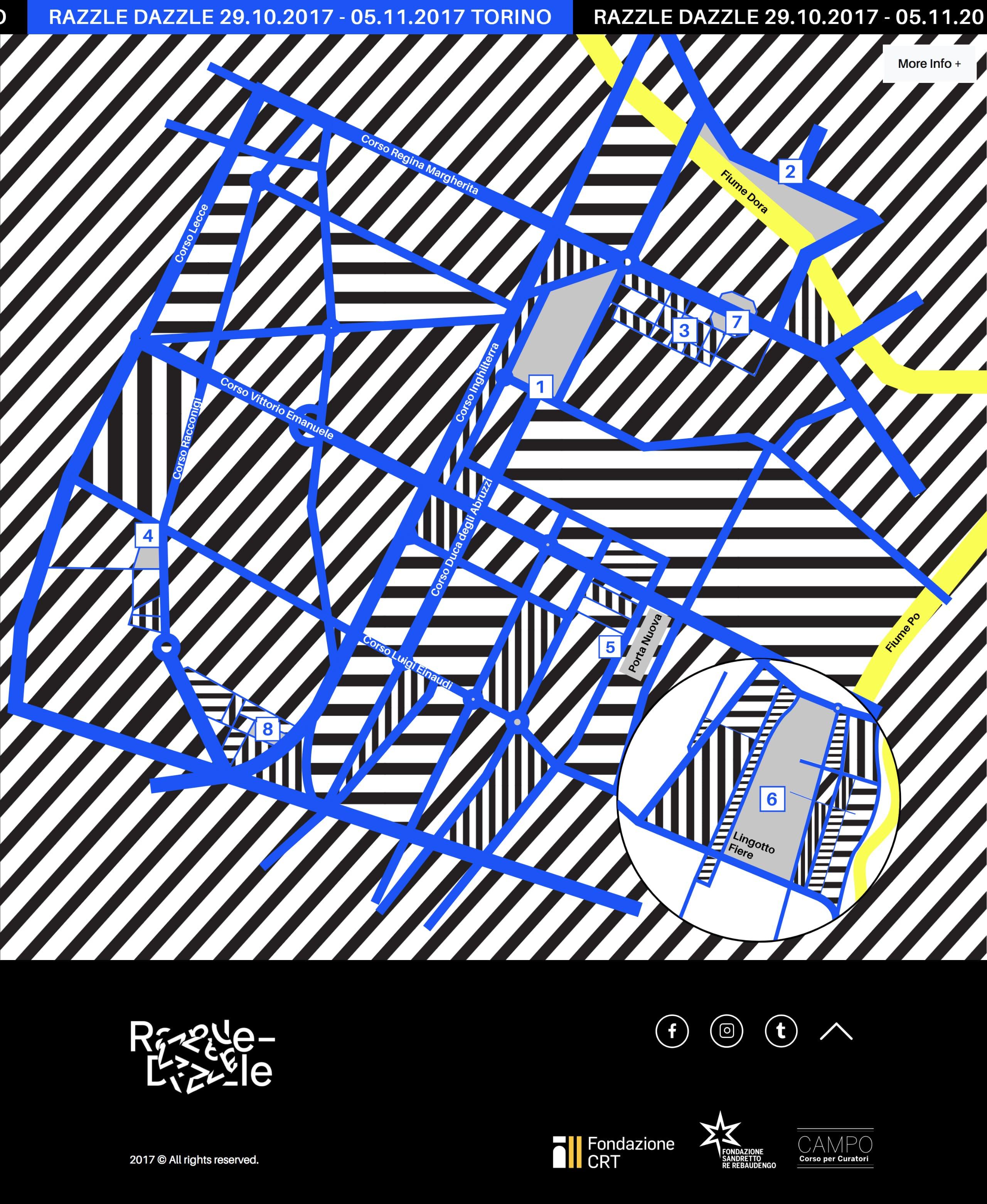 Razzle Dazzle Website Screenshot