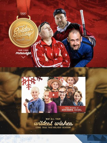 Have a Golden Holiday – Advisors Excel Thumbnail Preview