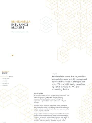 Brindabella Insurance Brokers Thumbnail Preview