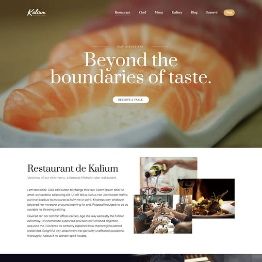 Kalium Restaurant Thumbnail Preview