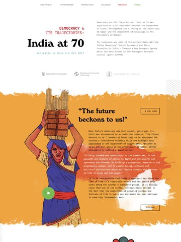 Democracy and its trajectories: India at 70 Thumbnail Preview