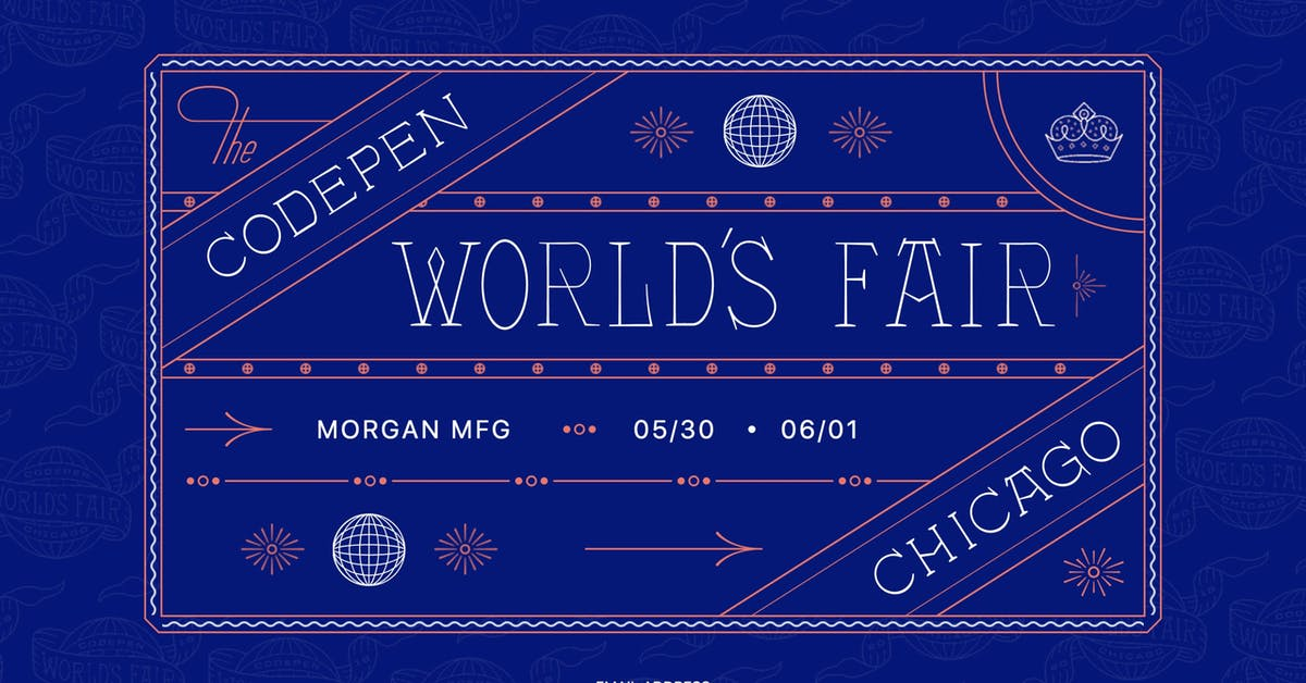 CodePen World's Fair - Most Loved Website Award