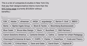 NYC Paid Creative Internships Thumbnail Preview