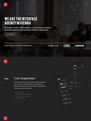 Interface Agency Thumbnail Preview