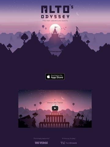 Alto's Odyssey Thumbnail Preview