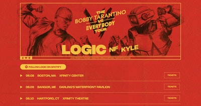 Bobby Tarantino Vs Everybody Tour Thumbnail Preview