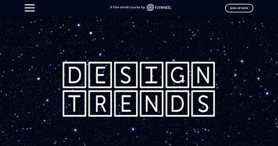 Design Trends 2018 with Flywheel Thumbnail Preview